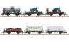 """Güterwagen-Set """"gemischter Güterzug""""."""