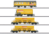 """Güterwagen-Set """"Bahnbaugruppe"""""""