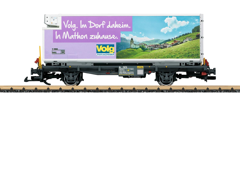 RhB Containerwagen Volg