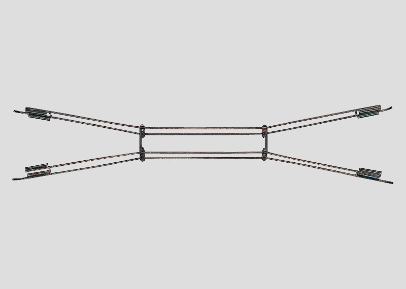 Catenary Wire for Crossings and Double Slip Switches