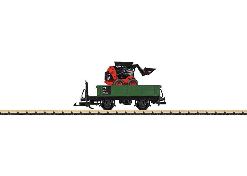 Niederbordwagen mit Ladegut