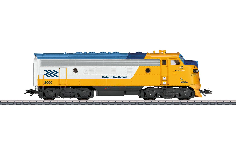 F7 Diesel Electric Locomotive.