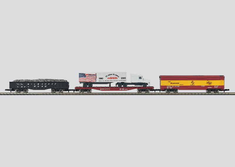 USA-Güterwagen-Set