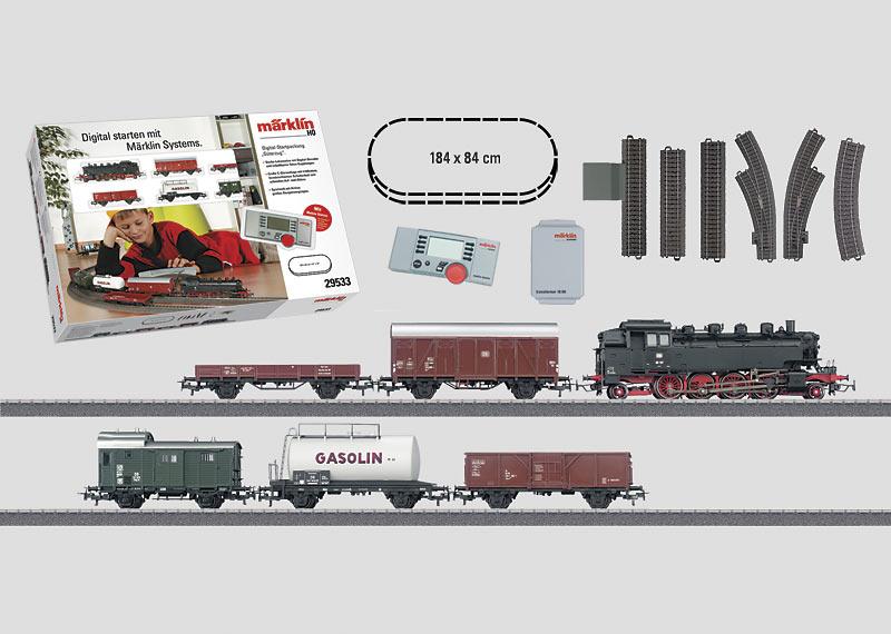 """""""Freight Train"""" Digital Starter Set. 230 Volts."""