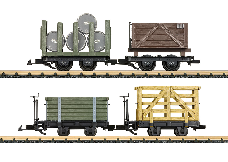 Feldbahn Wagenset