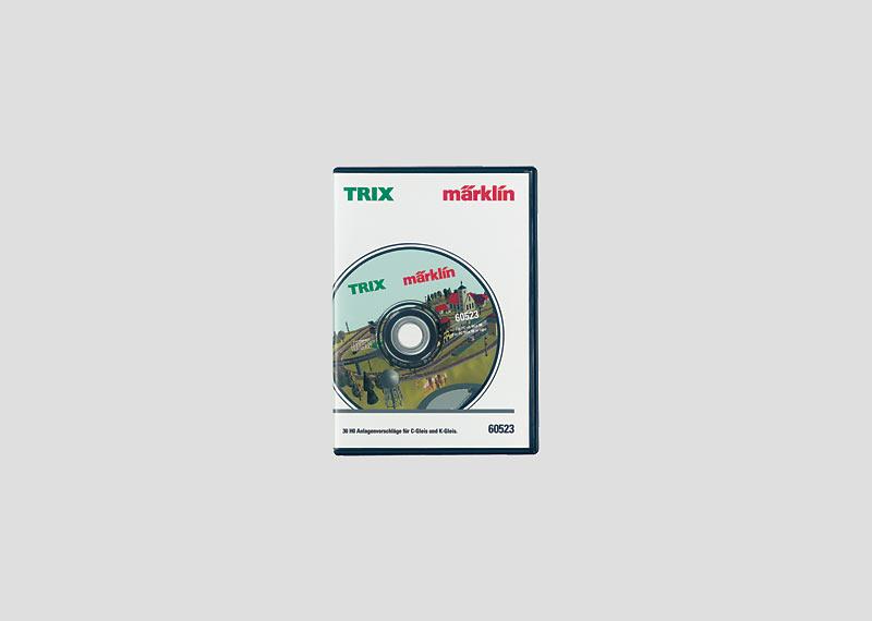 30 Gleispläne Märklin H0 auf CD-ROM.