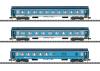 Schnellzugwagen-Set Bauart UIC-Y