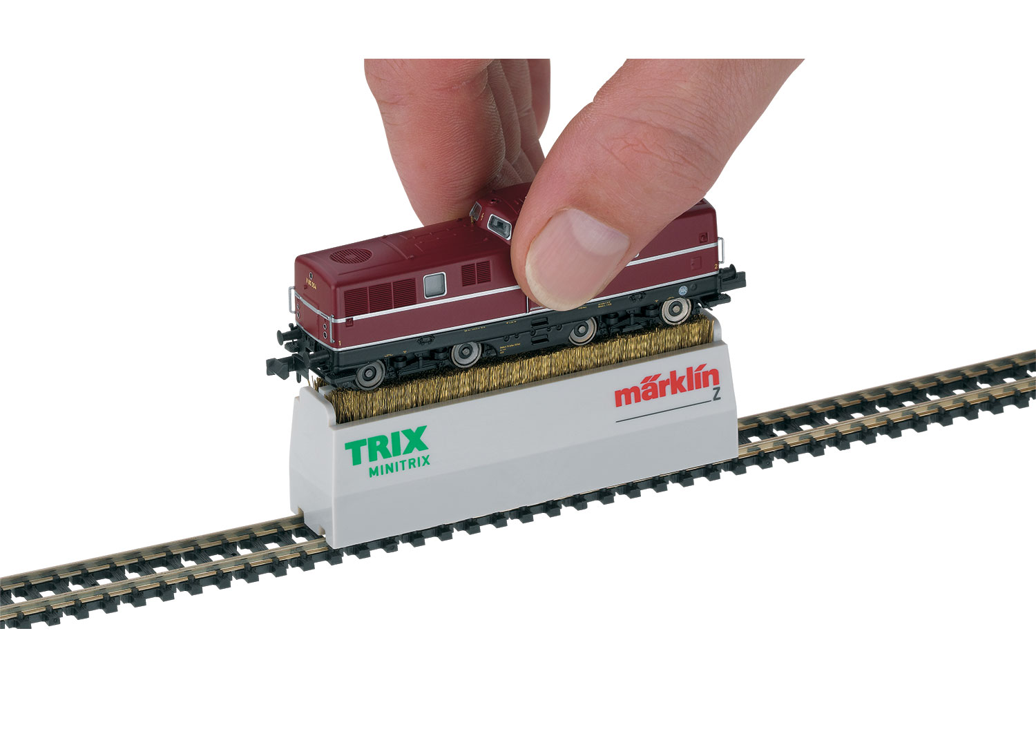 Minitrix and Z Gauge Locomotive Wheel Cleaning Brush