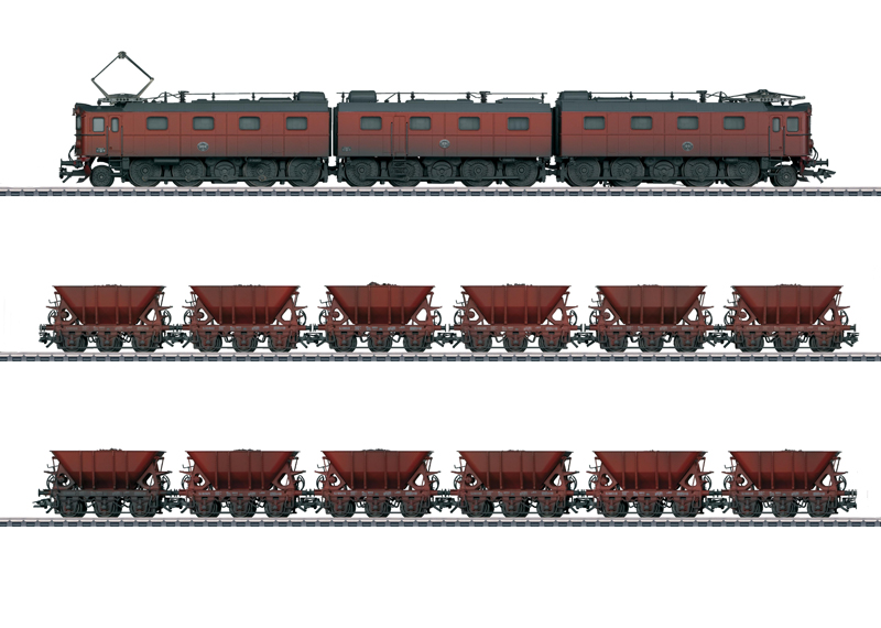 Ore Train - 13-Part.