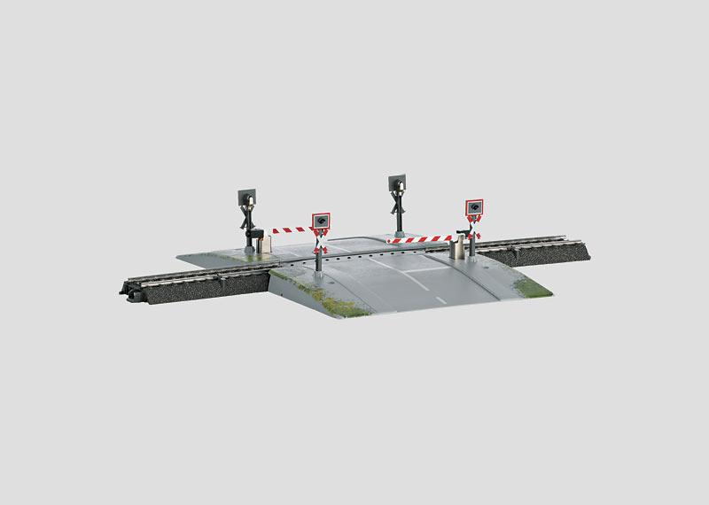 """Railroad Grade Crossing"" Track Extension Set."