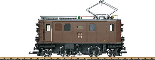 RhB Elektrolokomotive Ge 2/4