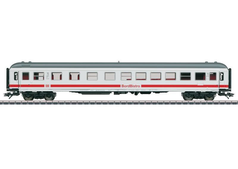 Express Train Passenger Car