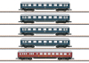 Express Train Skirted Car Set