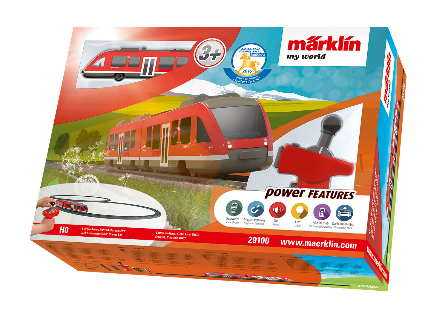 "Märklin my world – ""LINT Commuter Train"" Starter Set."