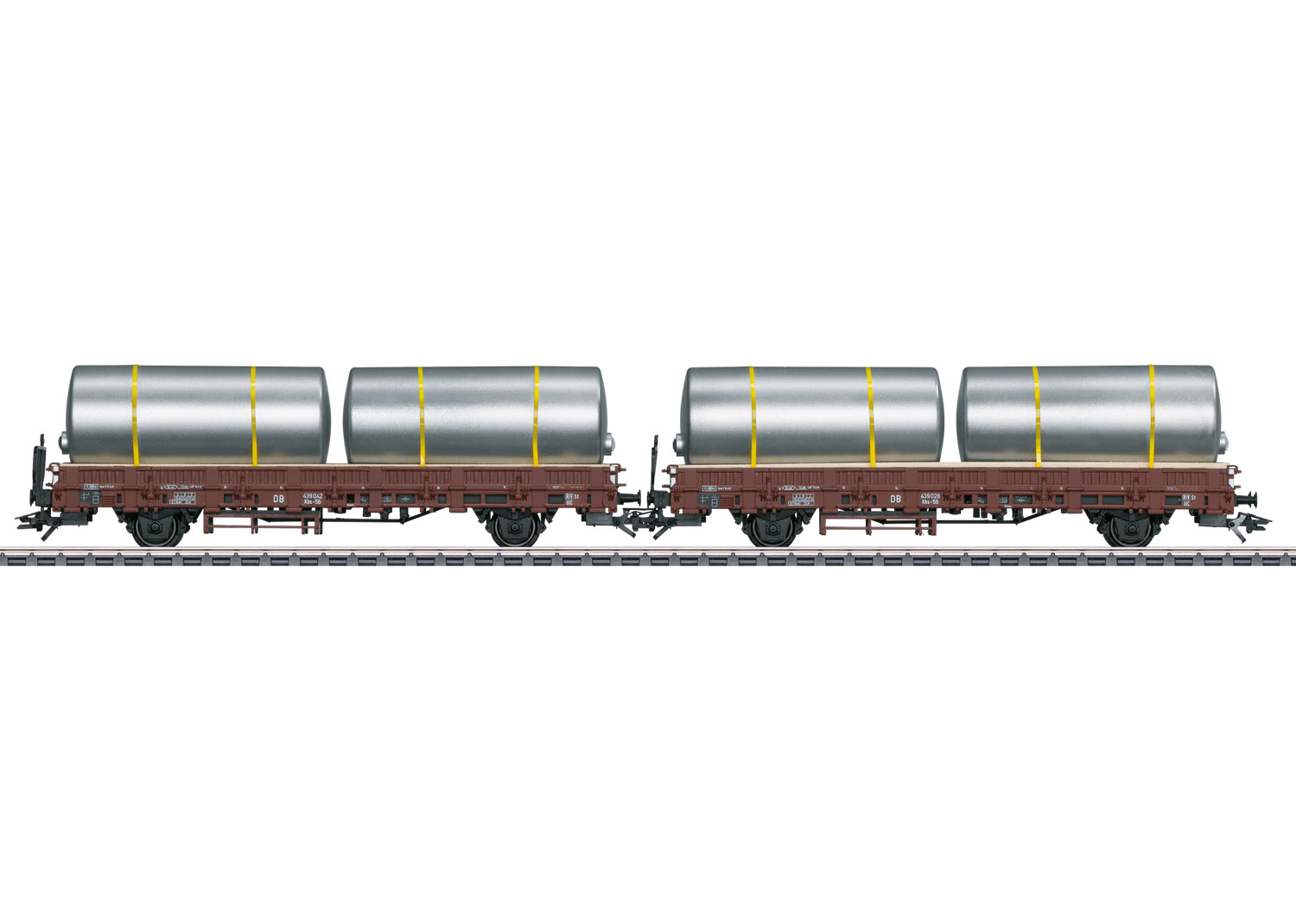 Set with 2 Type Kbs Stake Cars