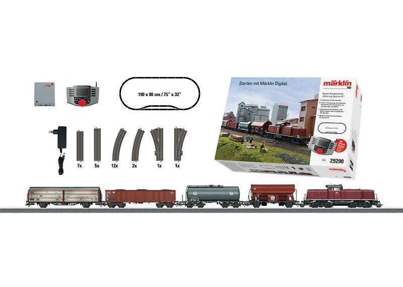 """Era IV Freight Train"" Digital Starter Set. 230 Volts"