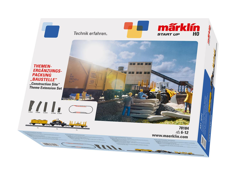 """Märklin Start up - """"Construction Site"""" Theme Extension Set"""