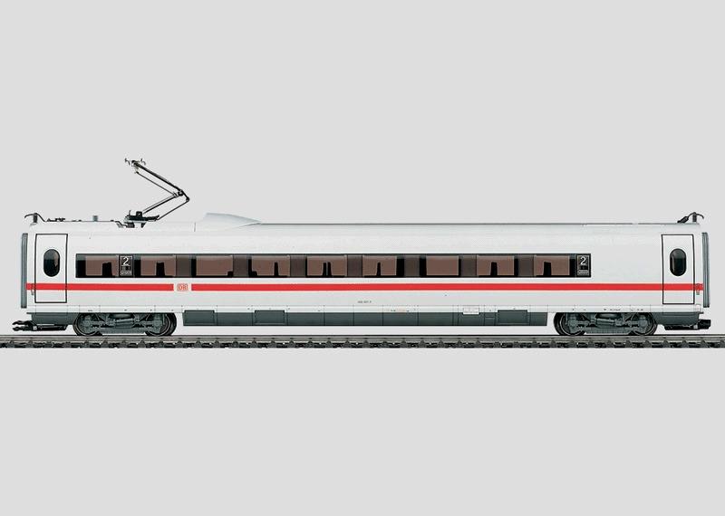 Mittelwagen zum Modell des ICE 3.