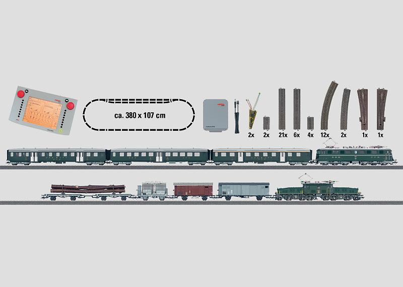"""""""Gotthard"""" Digital Mega Starter Set, 230 Volts."""