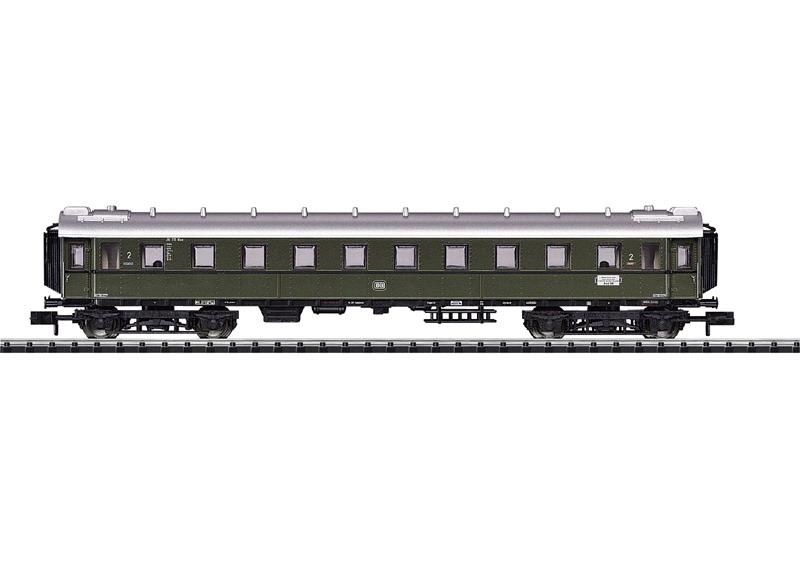 Schnellzugwagen 2. Klasse.