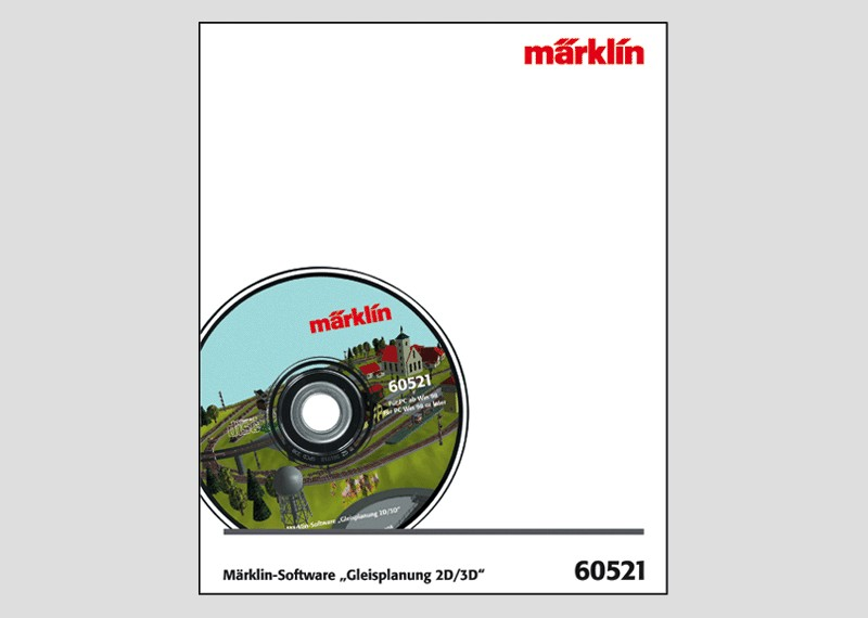 "Märklin-Software ""Gleisplanung 2D/3D"", Version 10.0"