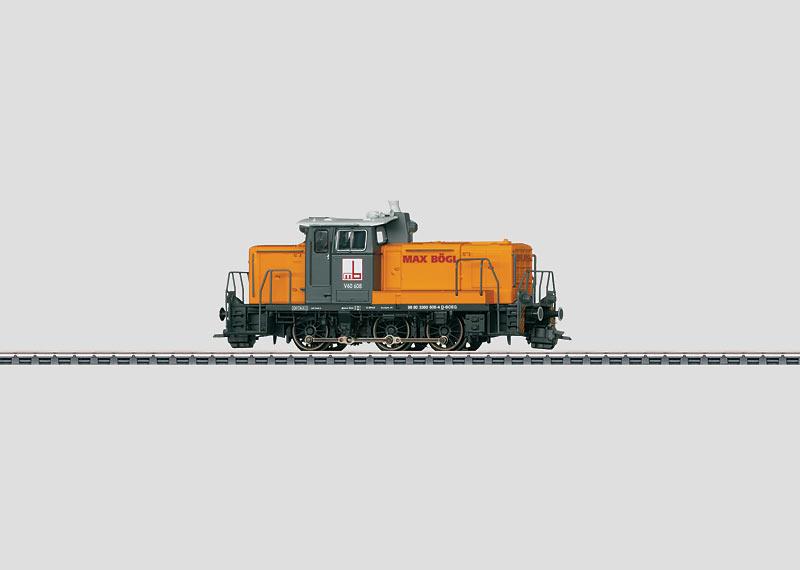 Diesel Locomotive, Road No. V60 608 Max Bögl.