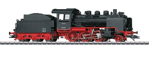 Locomotive à vapeur avec tender séparé BR 24