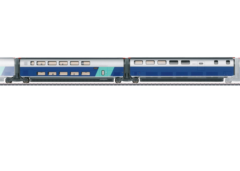 Add-On Car Set 3 for the TGV Euroduplex