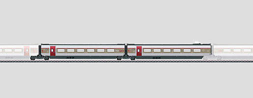 Coffret de complément 1 pour le TGV Lyria.