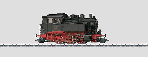 Locomotive tender.