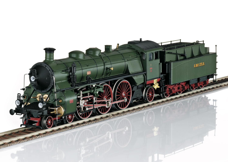 """Dampflokomotive S 3/6, die """"Hochhaxige"""""""