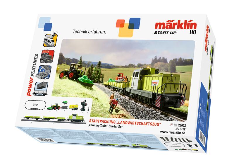"Märklin Start up - Startpackung ""Landwirtschaftszug"". 230 Volt"
