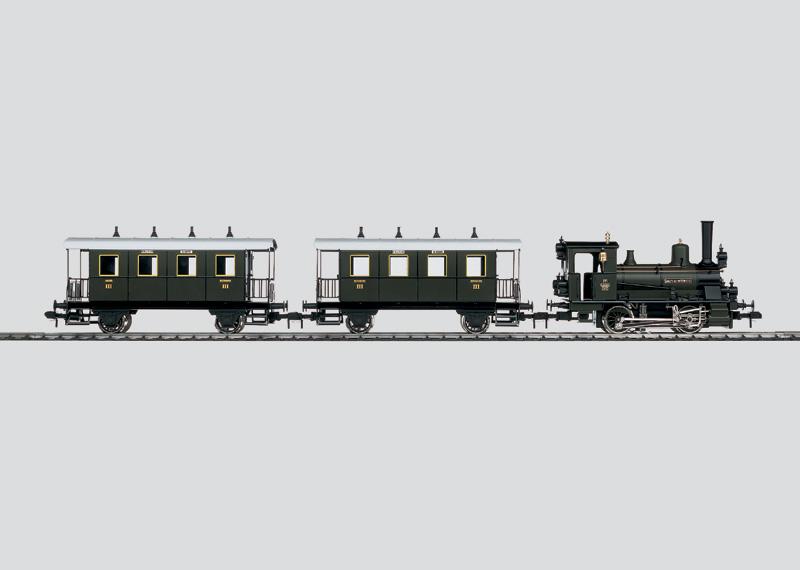 Bayerischer Lokalbahnzug