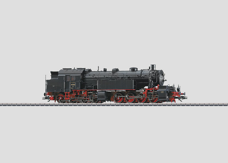 Schwere Güterzug-Tenderlokomotive.