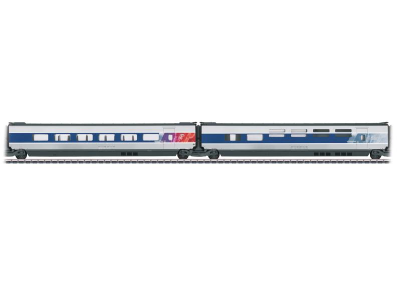 Set met aanvullende rijtuigen 3 voor TGV POS