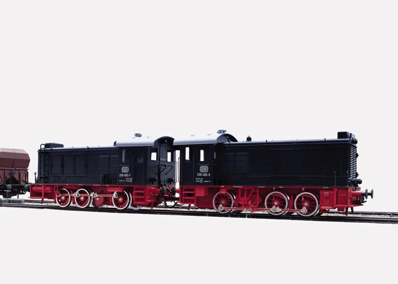 Diesel-Doppellokomotive