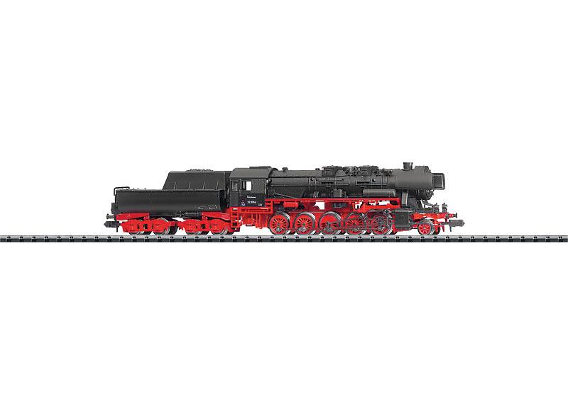 Güterzug-Schlepptenderlokomotive.