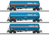 Set with Three Type Zags and Zagkks Pressurized Gas Tank Cars