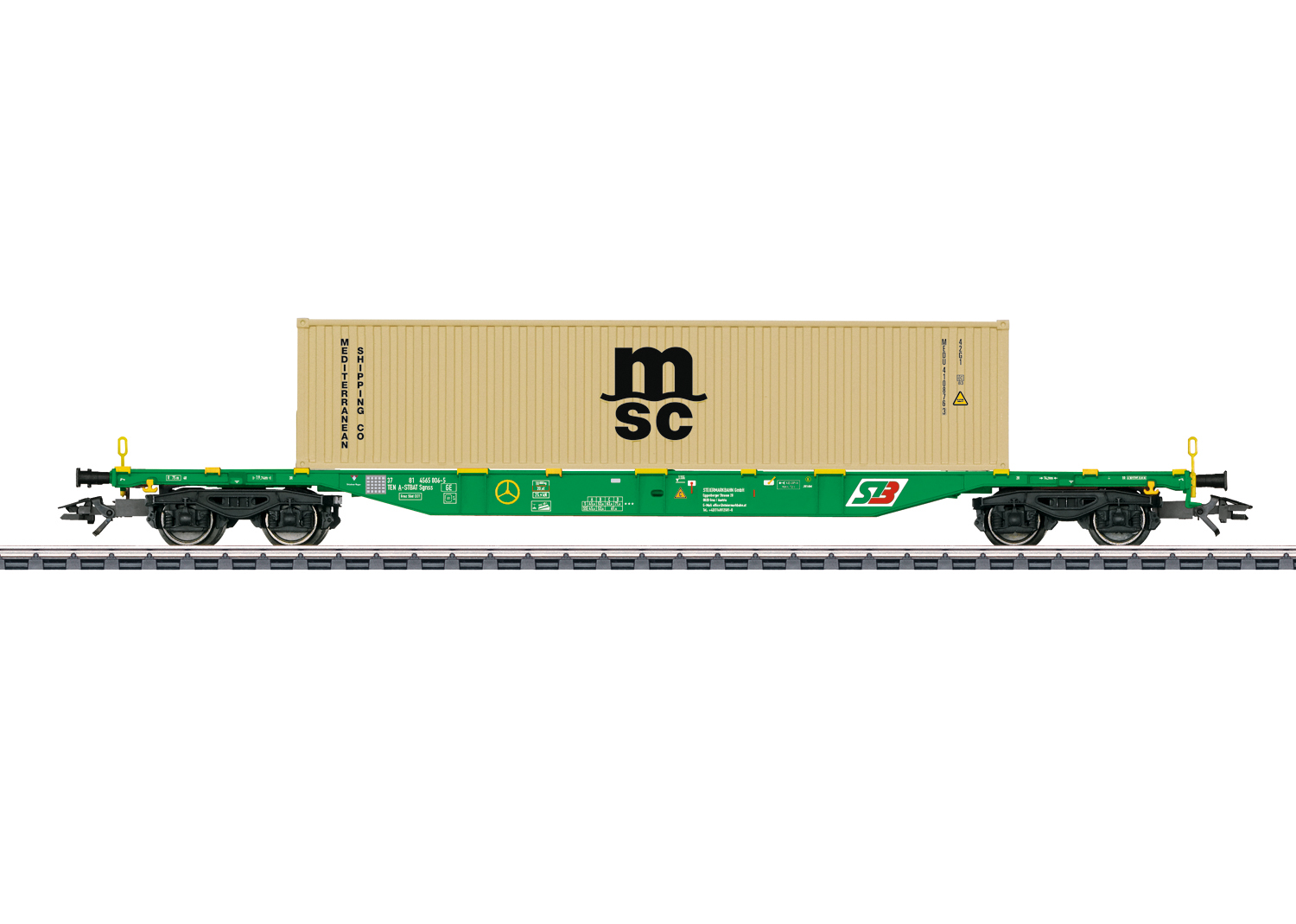 Type Sgnss Container Transport Car