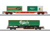 """Carlsberg and Tuborg"" KLV (Combination Load Service) Freight Car Set"