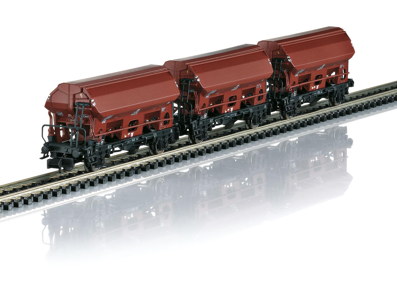 """Güterwagen-Set """"Seitenentladewagen"""""""