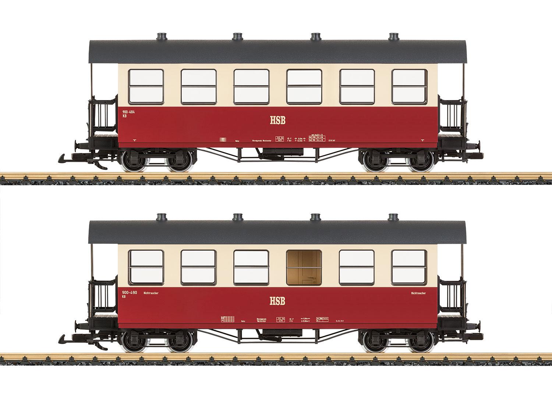 Wagenset HSB-Reisezugwagen