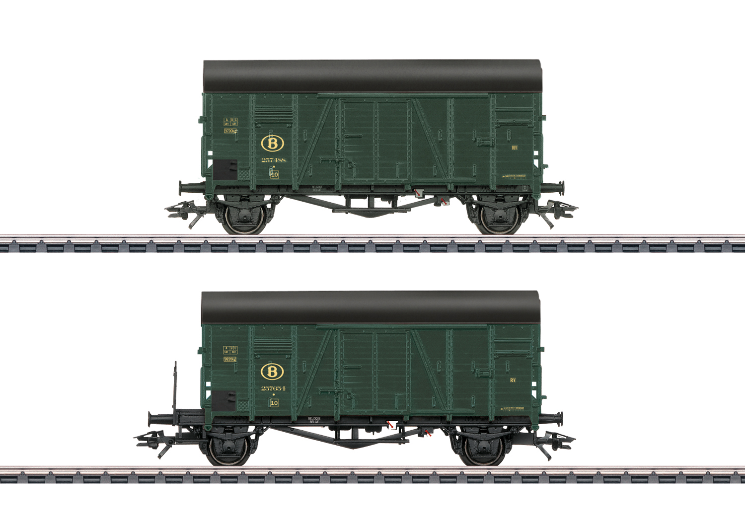 """Two """"Oppeln"""" Box Cars"""