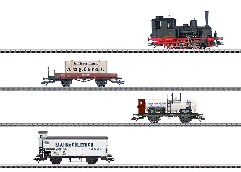 """Coffret de train """"Les 800 ans de Rostock"""""""