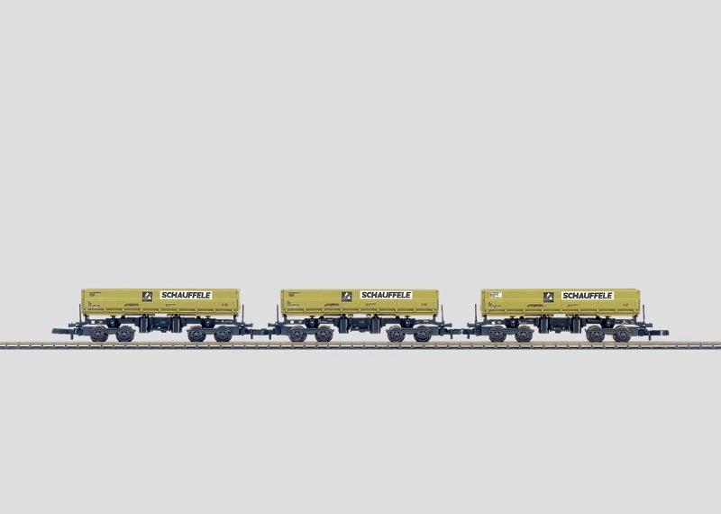 Bulk Freight Dump Car Set