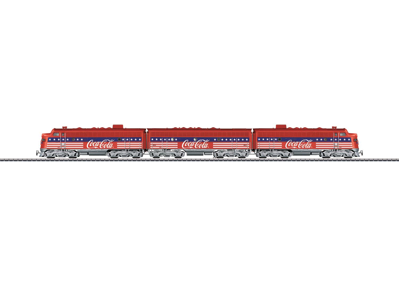 Dieselelektrische Lokomotive F7
