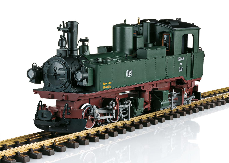 SOEG Steam Locomotive, Road Number IVk 145
