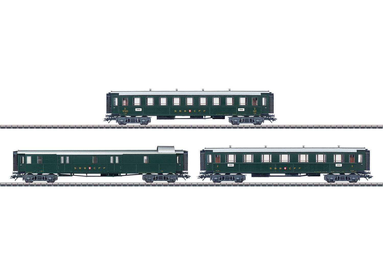 Three Passenger Cars