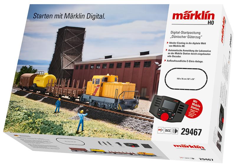 """Coffret numérique """"Train marchandises danois"""""""