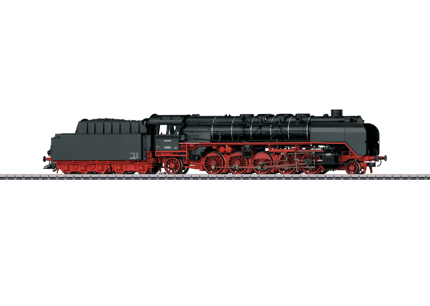 Class 45 Heavy Freight Steam Locomotive with a Tender